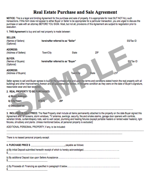 purchase-and-sales-agreement