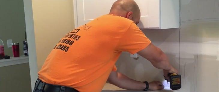 Shawn orange shirt