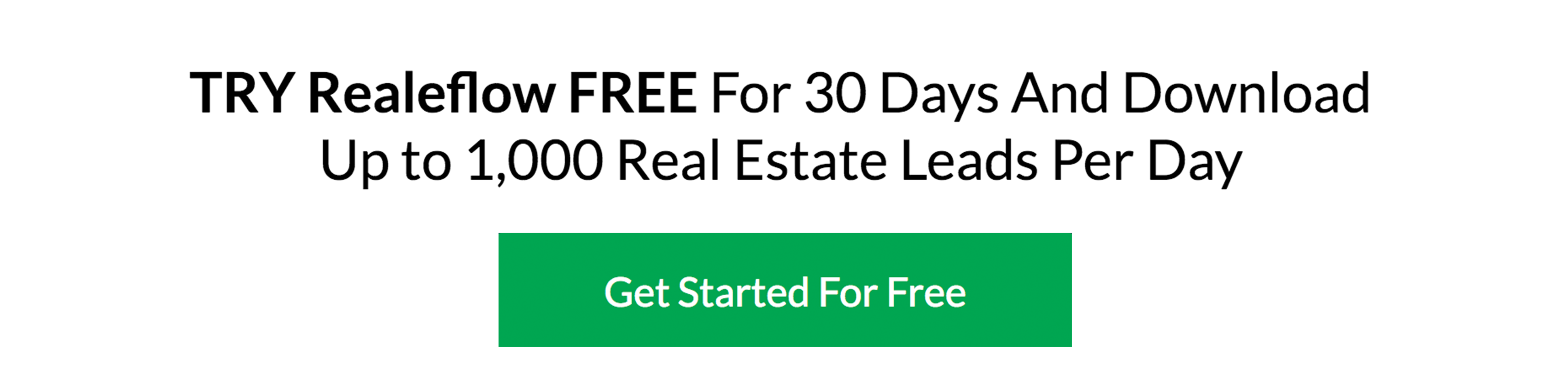 Get A 30-Day Free Trial Of Realeflow